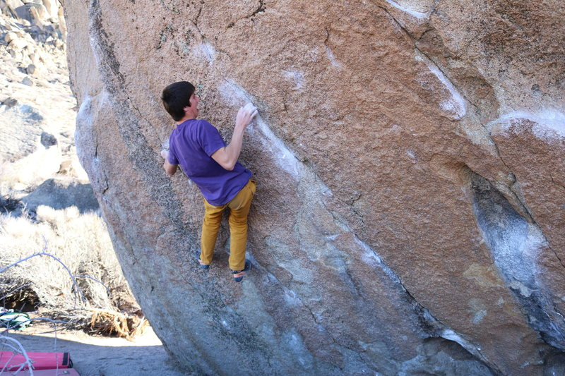 Rock Climbing Photo: A super fun climb with excellent movement but make...