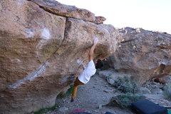 Rock Climbing Photo: Fun moves on Mr. Happy