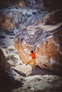Rock Climbing Photo: Latching the lip on Prozac!