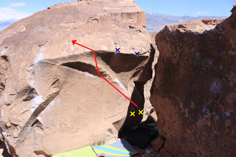 Rock Climbing Photo: The bulletproof line!
