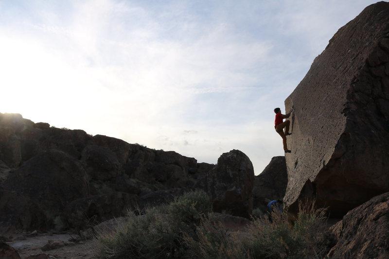 Rock Climbing Photo: The Heavenly Path