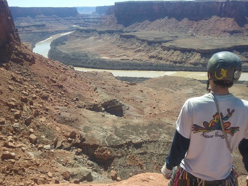 Rock Climbing Photo: Charlie Horse Needle
