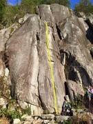 Rock Climbing Photo: Mosquito Topo