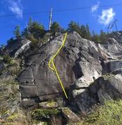 Rock Climbing Photo: Centre Street Topo