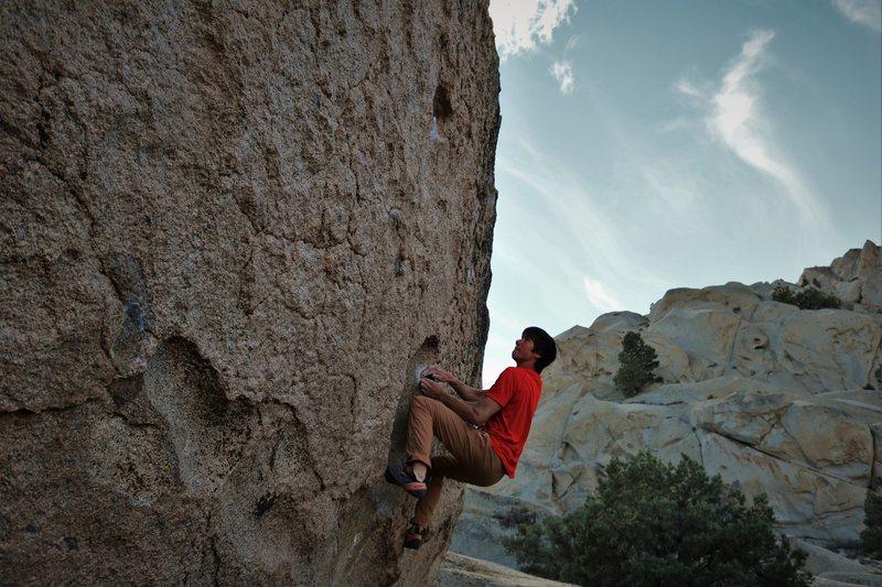 Rock Climbing Photo: Get it Troy!