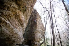 Rock Climbing Photo: beautiful climb