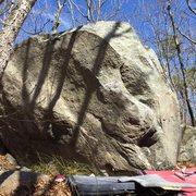 Rock Climbing Photo: Gold Medal, V5.