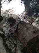 Rock Climbing Photo: Fist Pitch of Encore