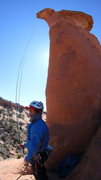 Rock Climbing Photo: Post rap, such a rad climb.. this guys stoked