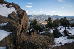 Rock Climbing Photo: cheese