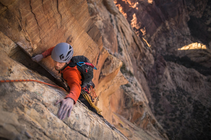 Rock Climbing Photo: Last pitch  Photo: Tyler Casey