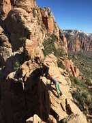 Rock Climbing Photo: Ridge climbing.