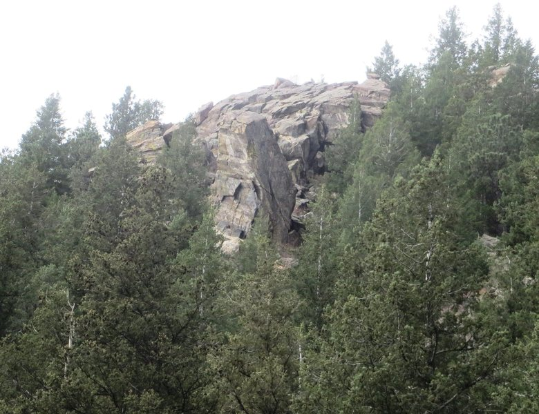 Rock Climbing Photo: The Talon from US Highway 6.