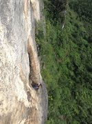 Rock Climbing Photo: Exposure on Blue Spirit!