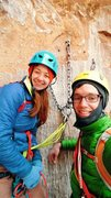 Rock Climbing Photo: second pitch anchors