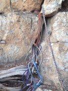Rock Climbing Photo: Even more webbing!
