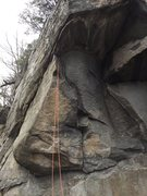 Rock Climbing Photo: Going Bats