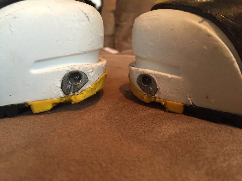 pin holes