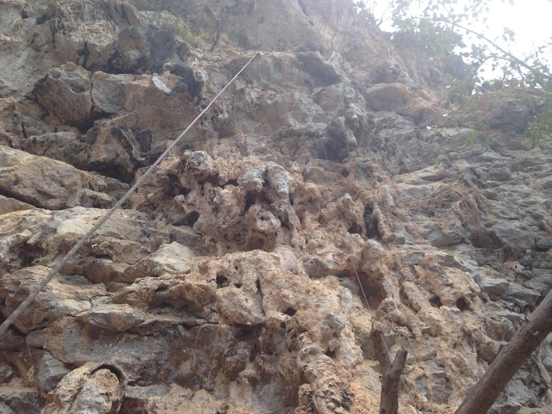 Rock Climbing Photo: Jugs galore