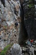 "Rock Climbing Photo: Nicole ""I believe in SCIENCEEEE!!!"" (nac..."