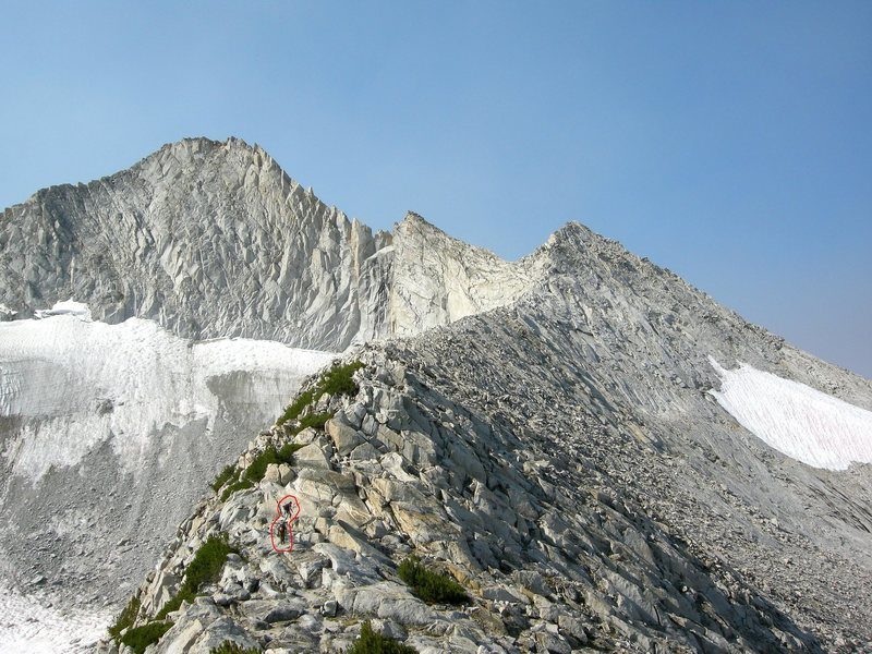 North Ridge Mt. Conness.