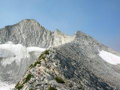 Rock Climbing Photo: North Ridge Mt. Conness.