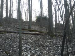 Rock Climbing Photo: Picture 500ft away taken during early spring. Look...
