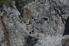 Rock Climbing Photo: shes cushdi in trainers!