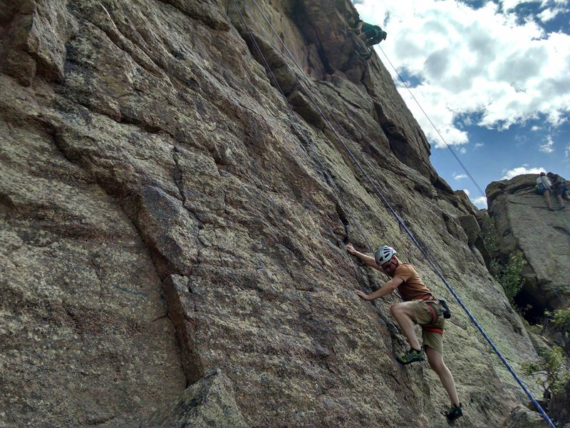 Rock Climbing Photo: Duncan's Ridge - Unnamed Top Rope Section