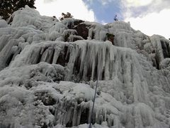 Rock Climbing Photo: Ouray Ice Park - South Park - Tom's Rhinoplasty