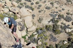 Rock Climbing Photo: finishing off shadowlands....shares the same ancho...