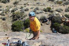 Rock Climbing Photo: finishing it off