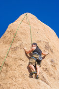 Rock Climbing Photo: We had a fun top rope session after I did my first...