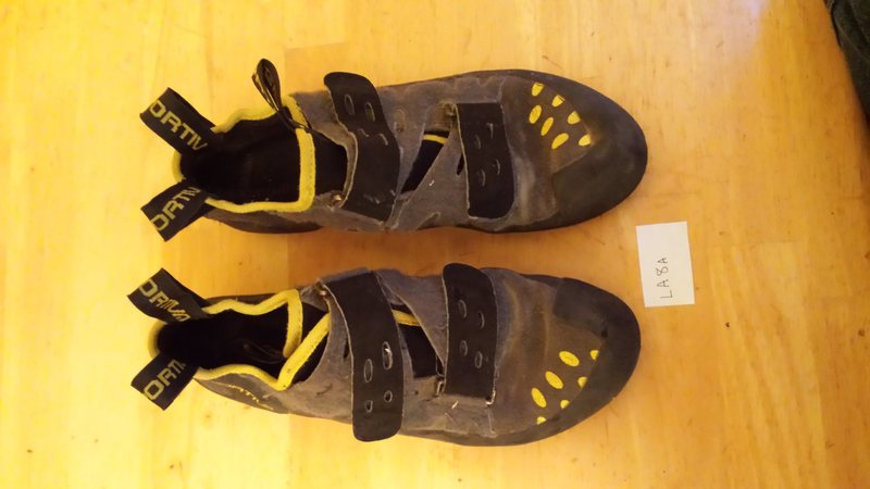 Rock Climbing Photo: This is the condition of most of the shoes