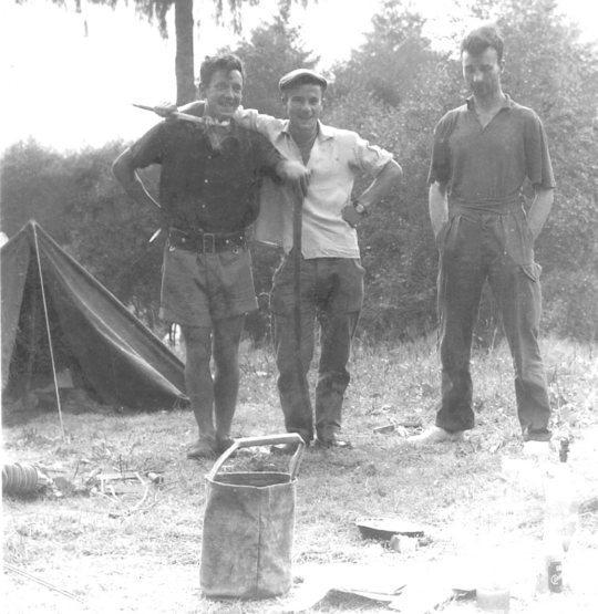 Rock Climbing Photo: chamonix 1959