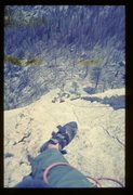 Rock Climbing Photo: Snake Dike, Halfdome. Conrad Anker picked us up hi...