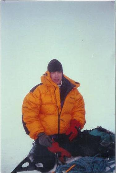 Summiting Mt. Rainier in a lenticular.