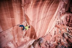 Rock Climbing Photo: The Bartlett Wash Crack, AKA Stranger Than Fiction...