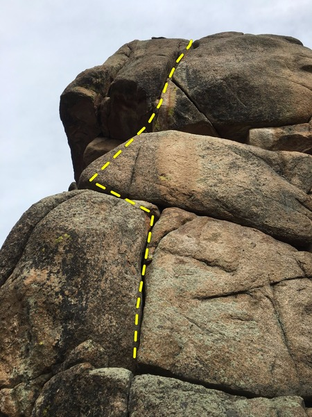 Best route at the crag.