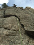 Rock Climbing Photo: Slabs.