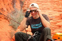 Rock Climbing Photo: Me at Red Rocks