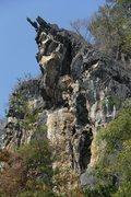 Rock Climbing Photo: View of Crazy Horse