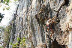 Rock Climbing Photo: Ian Smith on Flushed
