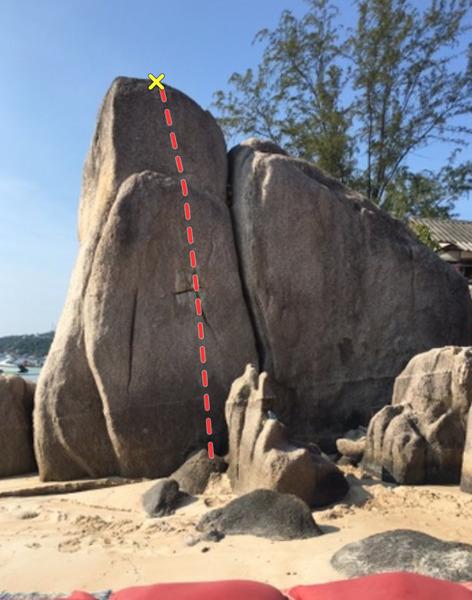 Rock Climbing Photo: Cross Eyed
