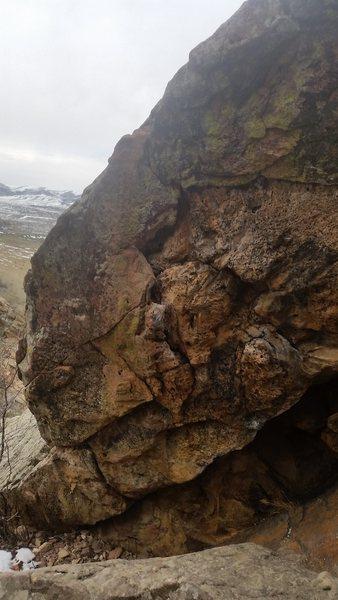 Rock Climbing Photo: Jugs galore.