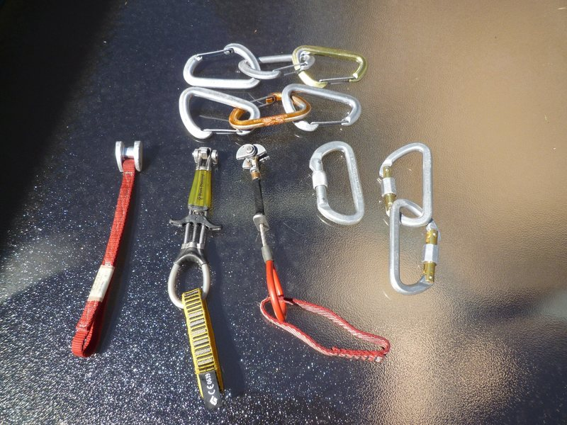 Rock Climbing Photo: gear for sale