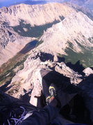 Rock Climbing Photo: summit of Principal looking at La Vieja, M2, and A...