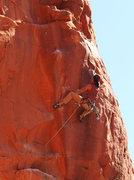 Rock Climbing Photo: gettin' her done