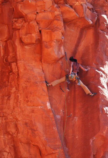 Rock Climbing Photo: sweet stemming