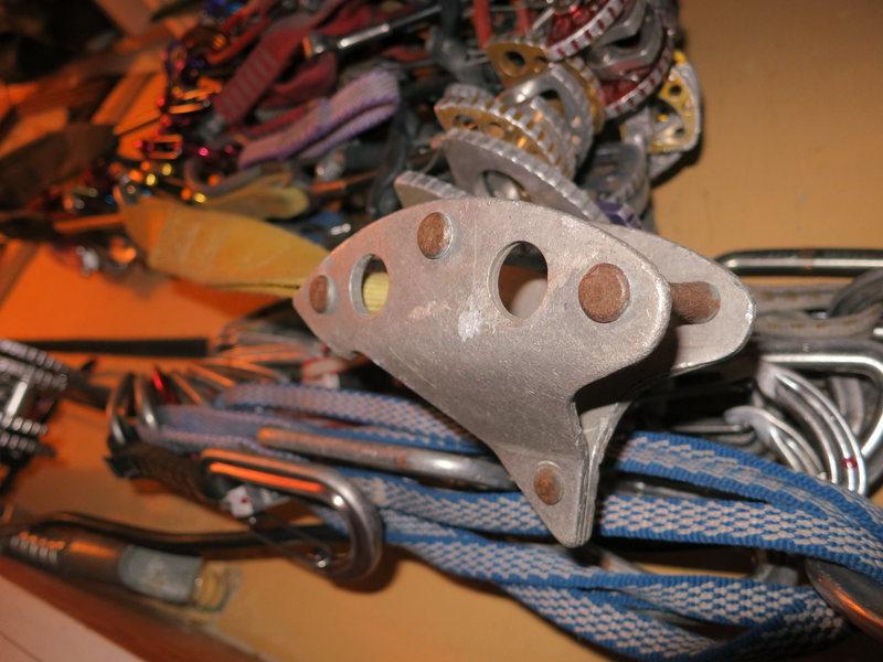 Rock Climbing Photo: Bridwell's Tricam